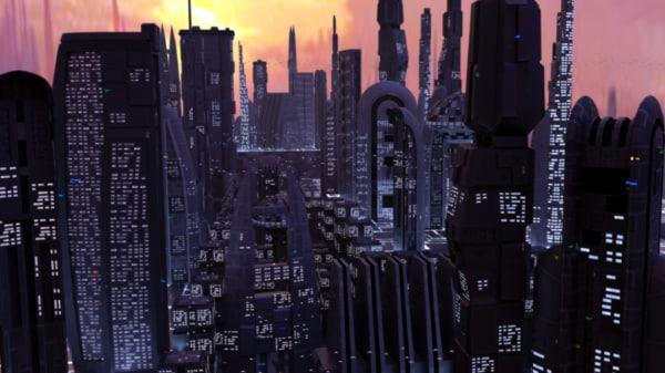 3d 17 sci-fi buildings