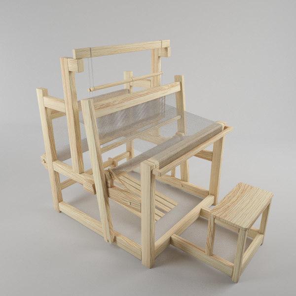 3d model loom