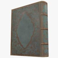old book 4 3d model