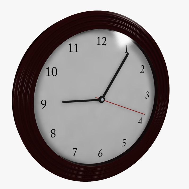 clock obj free