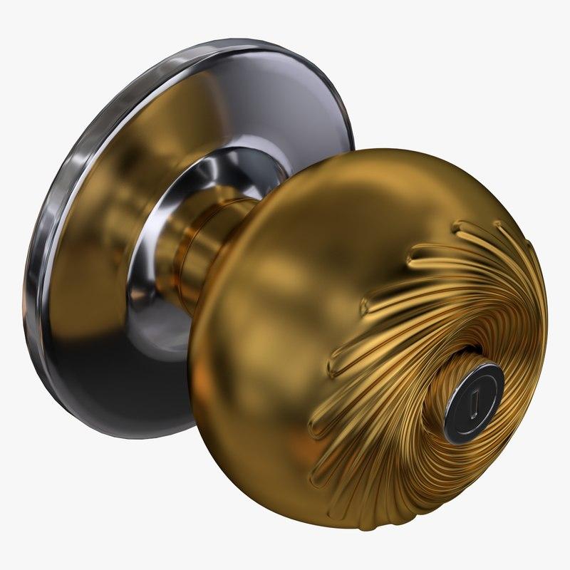 door lock 3d model