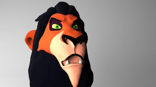 lion scar max
