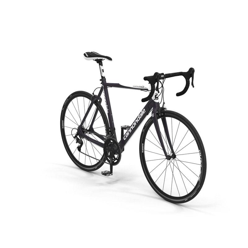 Road Bike Cannondale 3d 3ds