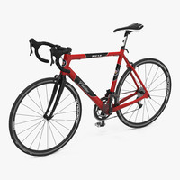 road bike cadillac 3d model