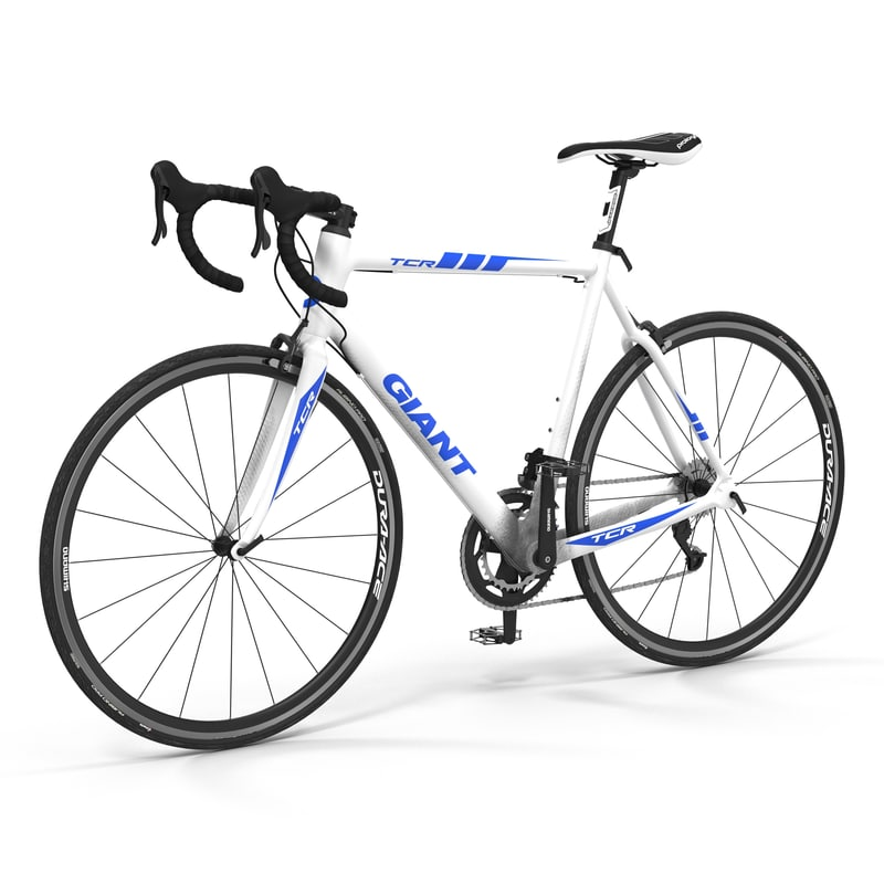 road bike giant 3d obj