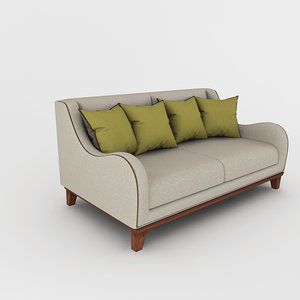 sofa volpi 3d max