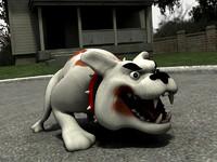 unity dog 3d 3ds