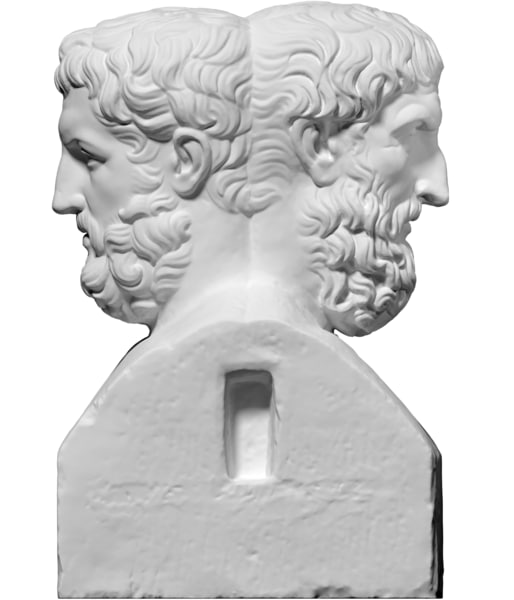 free scan double herm epicurus 3d model