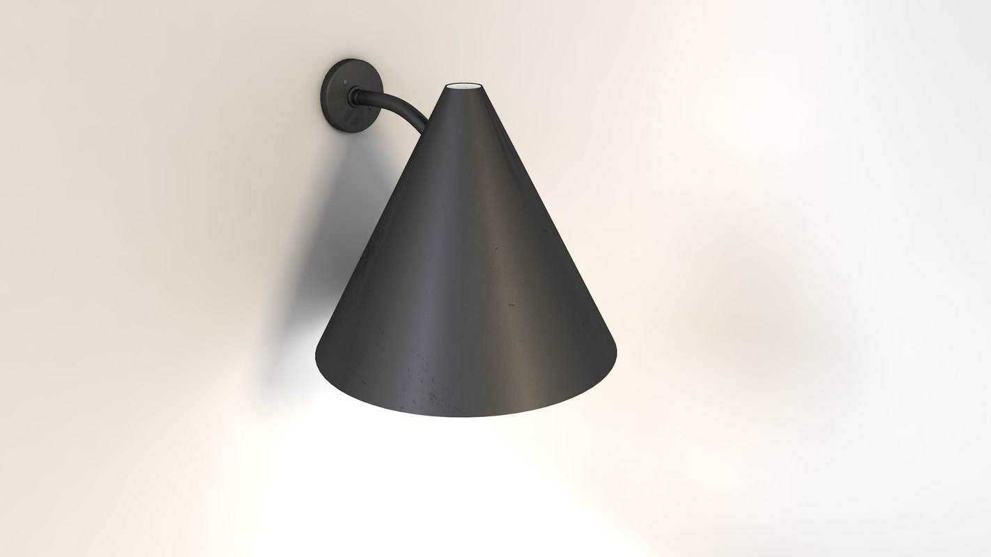 lamp wall light 3d model