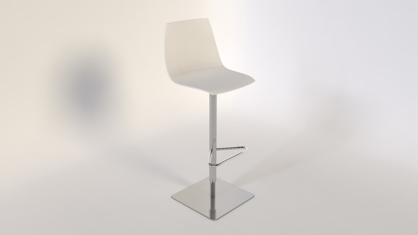 tabouret stool bar 3d model