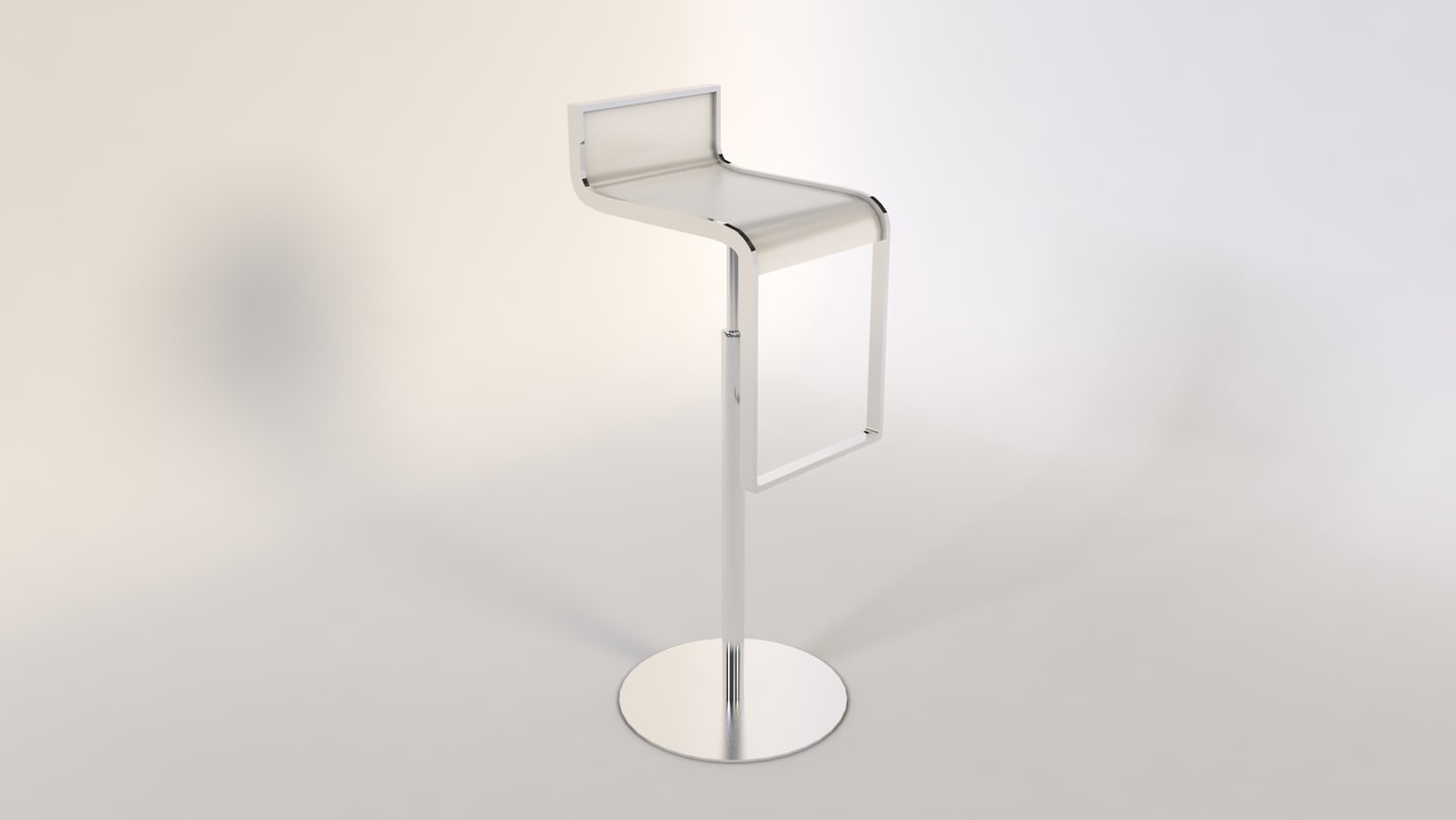 c4d tabouret stool bar