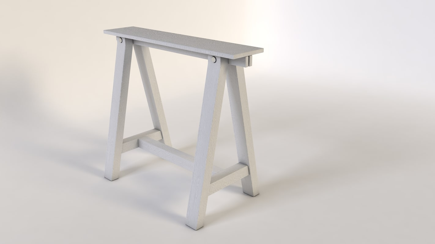 pic nic table 3d model