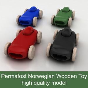 race car permafrost norwegian 3d 3ds