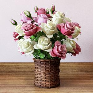 modeled roses max