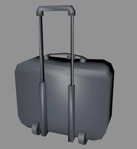 3d model of suitcase case