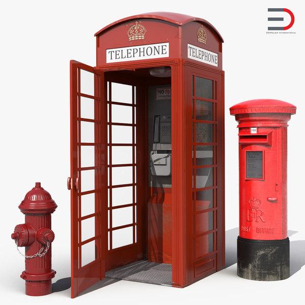 3d model london elements 2