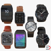 3d model smartwatches 2 watch