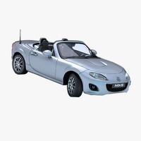 3d car mazda mx5
