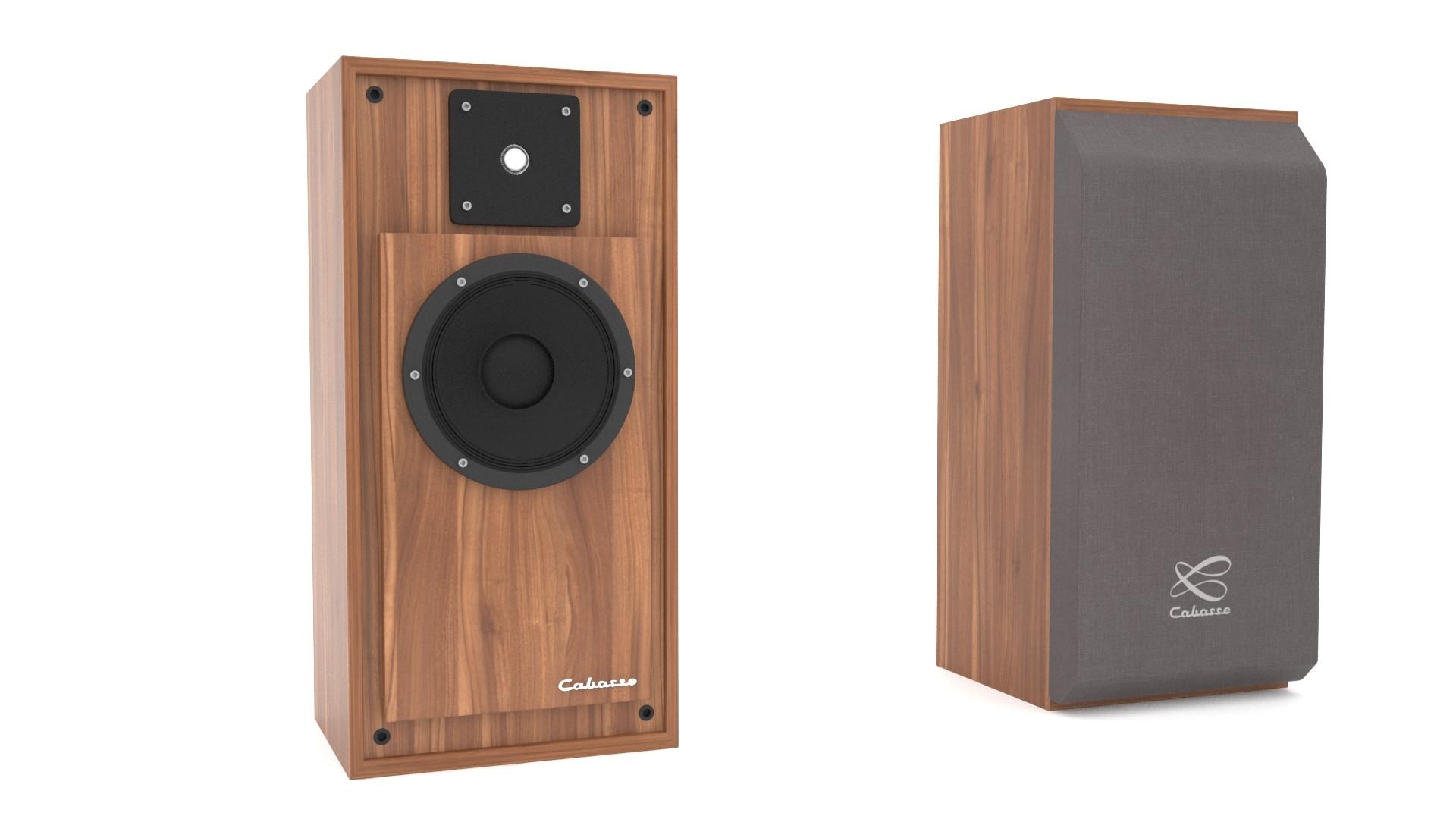 3d speaker cabasse model
