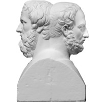 free scan double herm thucydides 3d model