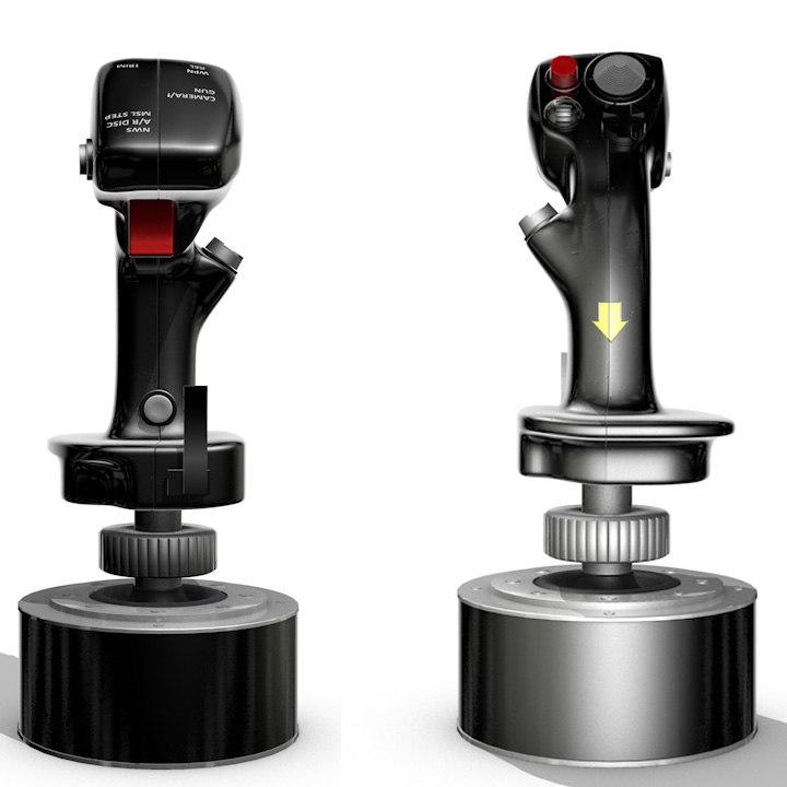 3d 3ds joystick stick