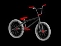 BMX Low Poly High Quality