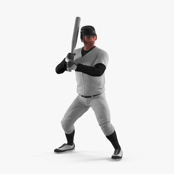 3d model baseball player