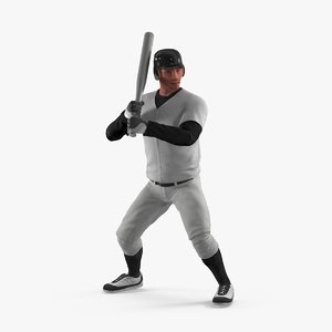 3d model baseball player