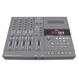 3d model 4-track recorder cassette