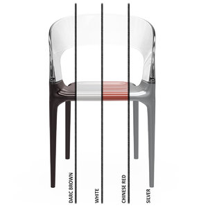 3d ring chair driade model