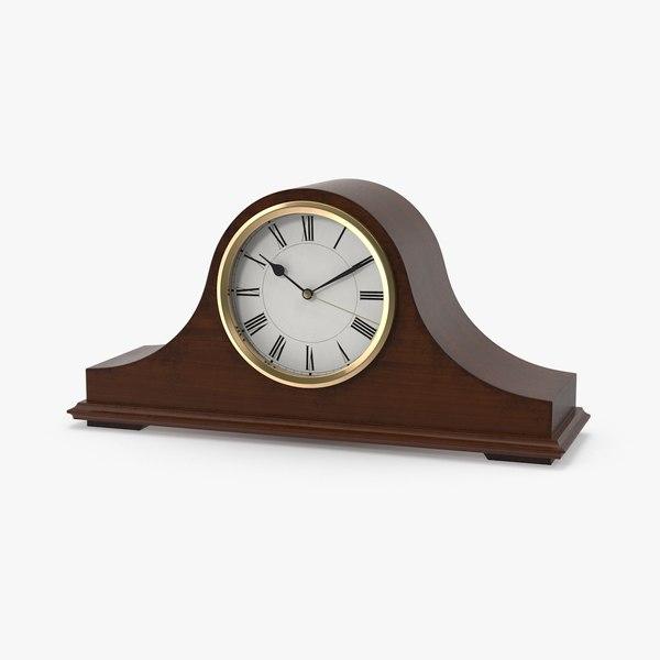 3d mantel clock model