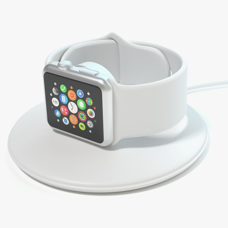 apple watch charger 3d max