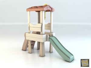 toy house club step 3d max