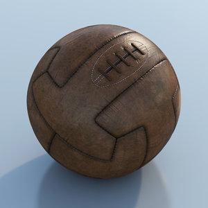 t-model ball soccer 3d max