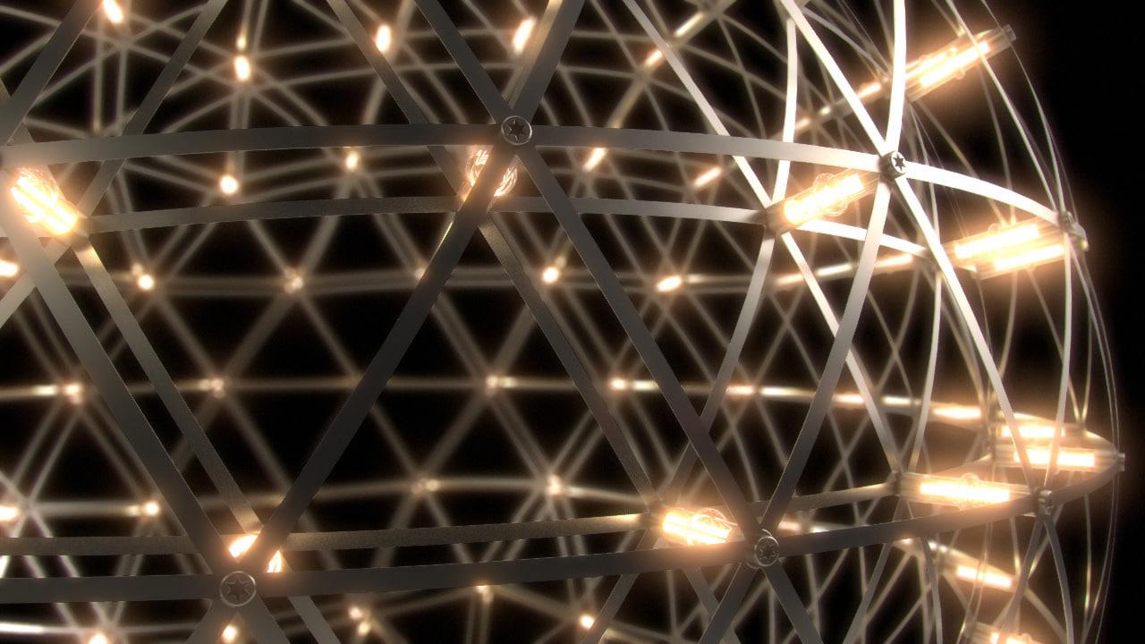 3d raimond led lights lamp