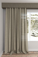 3d model large modern curtain