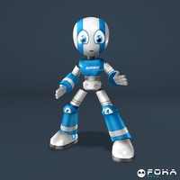 robbie robot games 3d model