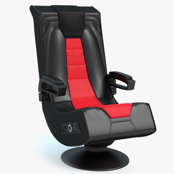 gaming chair 3d model