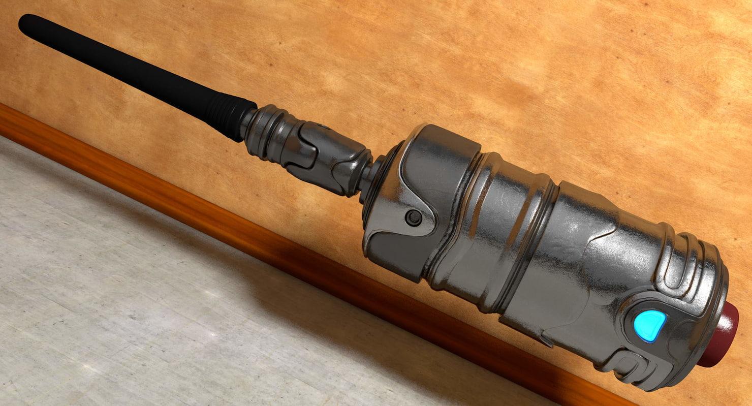electronic detonator 3d model