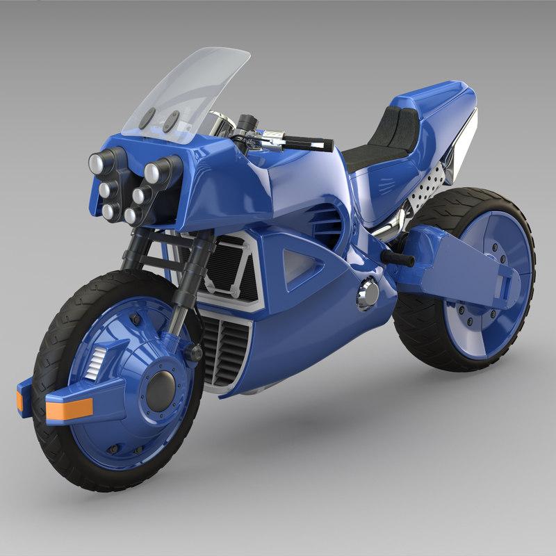 3ds offroad bike realistic