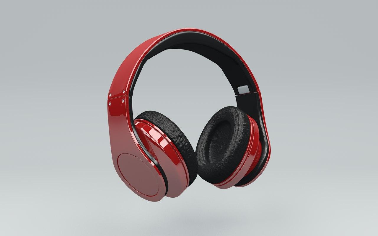 obj generic headphones