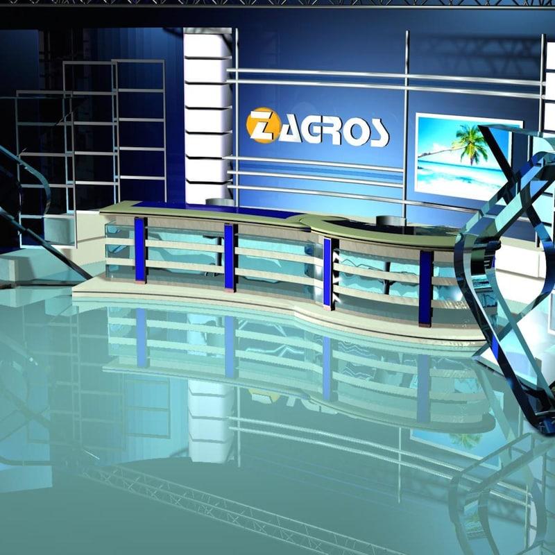 tv news studio 109 ma