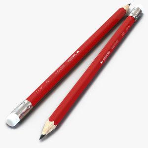 pencil design 3d max