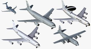 nato support aircraft 3d max
