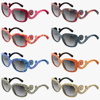 stylish prada sunglasses 3d 3ds