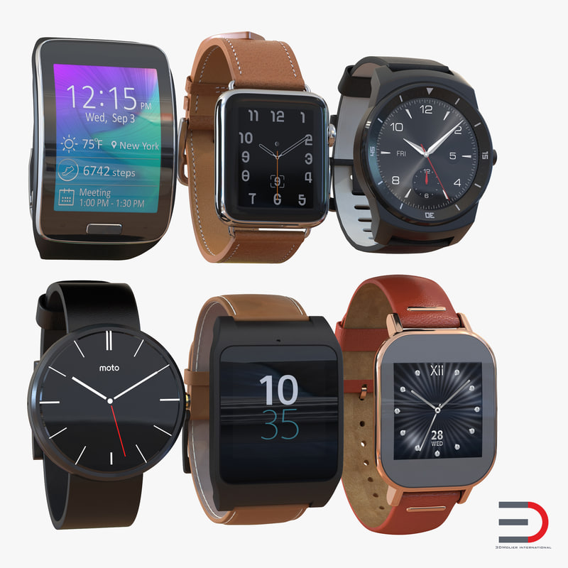 smartwatches 3 watch s 3d max