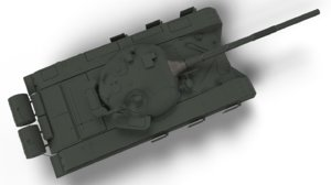 3d obj tank t 72