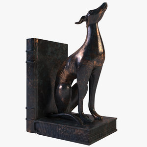 greyhound bookend max