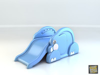 Toy Elephant Slide