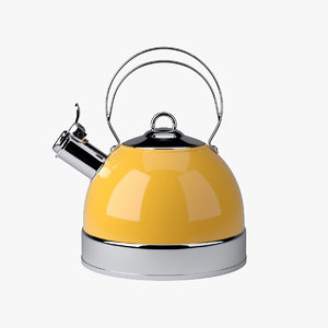 stove kettle 3d max